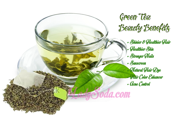 green tea beauty tips