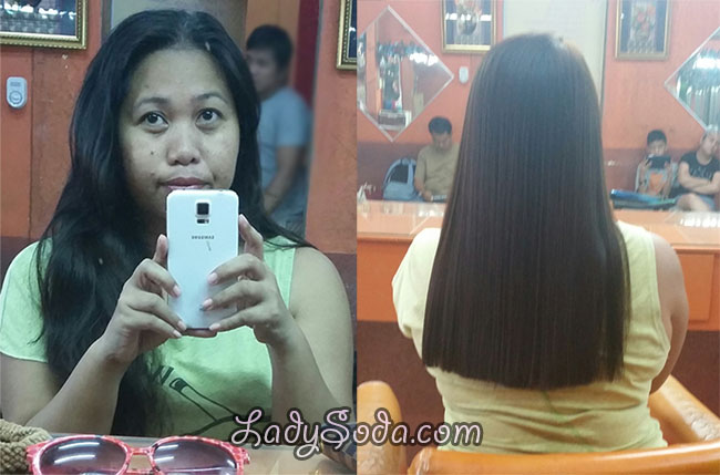 brazilian blowout result