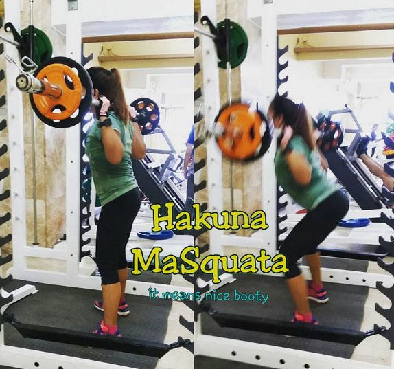 fitness squats