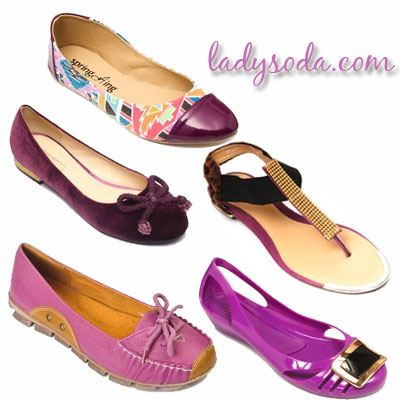 radiant orchid flats