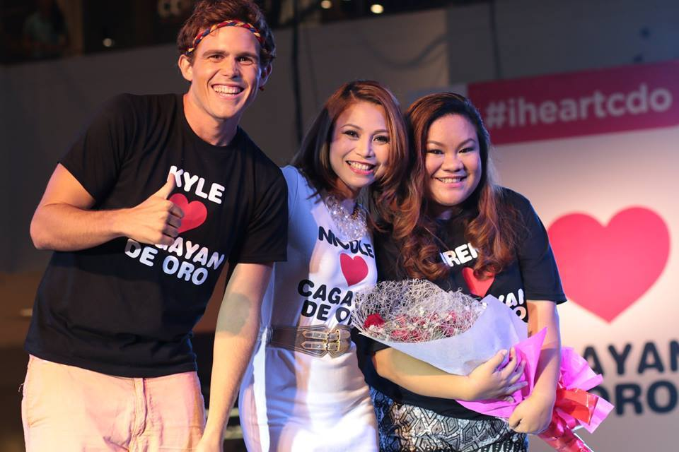 3 of Islands Souvenir CDO Ambassadors - Kyle, Nicole and Irene
