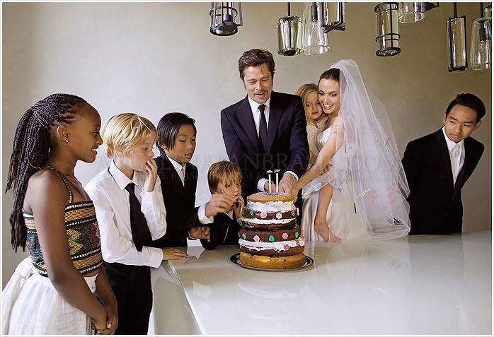 brangelina wedding cake