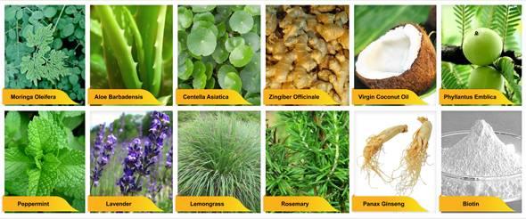 nvuhair organic materials